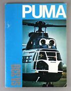 Aerospatiale Sa 330 Helicopter Manufacturers Sales Brochure 1971