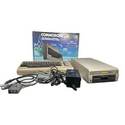 Commodore 64 Computer 1541 Disk Drives With Hookups Manuals And Original Box
