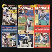 7 Issues The Sporting News Baseball Yearbook - 1987 And03988 And03989 And03990 And03991 And03992 And0399