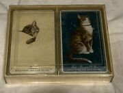 Vintage Chesapeake And Ohio Railway Chessie Cat Playing Cards Sealed Nos Look