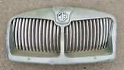 Rare Vintage 1950and039s 1960and039s Mg Car Front Grille Assembly 61 Mga Morris Garages