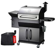 Z Grills Zpg-10002b2e Wood Pellet Grill And Electric Smoker Bbq Combo 2021 Update