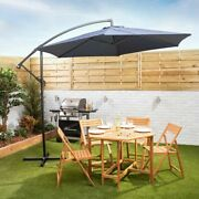 Large Cantilever Parasol - 3m Banana Parasol In Choice Of Colours