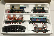 Collectible 1993 Toy State Christmas Magic Santa Claus Musical Train Set Working