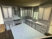 10x10 All Solid Wood Shaker Rta White Kitchen Cabinets Set Self Closing