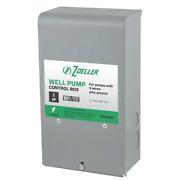New Zoeller Well Pump Control Box 1hp Steel 1010-2338 Submersible 3-wire