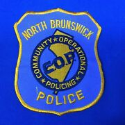 North Brunswick Cop Community Operational Policing Shoulder Patch New Jersey