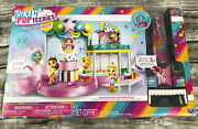 Nib Party Popteenies - Poptastic Party Playset W/confetti, Exclusive Collectible
