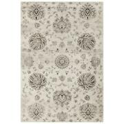 Mda Home Antique 8and039x11and039 Floral And Botanical Fabric Area Rug In Beige/brown