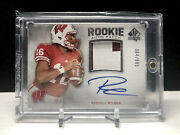 2012 Russell Wilson Upper Deck Sp Authentic Rookie Auto /885 Seahawks