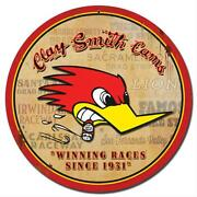 Summit Racing Gifts A717 Clay Smith Winning Round Sign