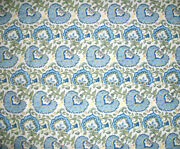 Longaberger Rare Retired Earth And Sky Fabric - New - 5 Yards Uncut-shop Store