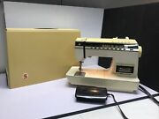 Singer Athena 1200 Electronic Sewing Machine Embroidery Serger Excellent Working