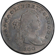 1800 Draped Bust Dollar Extremely Fine Details