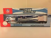 Ny Giants Football 2003 Limited Edition Kenworth Tractor Trailer Toy Truck 180