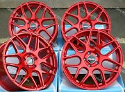 18 Red Cr1 Alloy Wheels Fit 5x108 Land Rover Discovery Sport Freelander 2