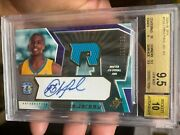 Full Bold Auto Spx Bgs 9.5 Jersey Rookie Chris Paul 2005 Awesome Card Nice