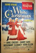 Irving Berlinand039s White Christmas / 1954 Original One-sheet Poster