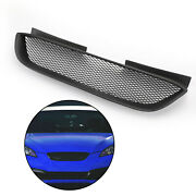Front Hood Mesh Grille Bumper Grill Fits Hyundai 08-2012 Genesis Coupe Black F1