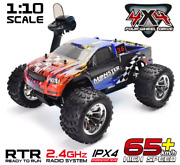 110 Hsp Rc Car Two Speed Off Road 4wd Truck Nitro Power Remote Control Crawler