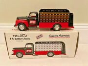 First Gear -1951 Ford F6 Bottlers Nitro Cola Truck Die Cast Metal 134 Scale