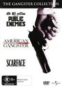 Public Enemies / American Gangster / Scarface New Pal Arthouse 3-dvd Set