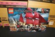 New Sealed Box Lego 4195 Potc Queen Anne's Revenge Pirates Free Priority Mail
