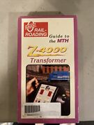 Mth Electric Model Trains Vhs 1998 Guide To The Z-4000 Transformer Rich Melvin