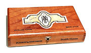 Vintage Dominican Playboy Don Diego Double Corrona Signature Hand Made Cigar Box