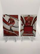 2020 Immaculate Soccer Mason Greenwood Lot Of 2 Patch /50 And Base /99