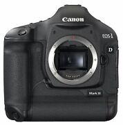 Canon Eos 1d Mark Iii 10.1mp Digital Slr Camera Body Only Discontinued By Man