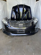 2008-2012 Jdm Honda Accord Cp3 Front End Mugen Bumper Grillehood Headlights V6