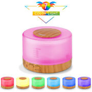 500ml Ultrasonic Humidifier Aroma Diffuser 7 Color Changing Essential Oil Diffus