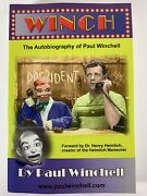 Winch Autobiography By Ventriloquist Paul Winchell Rare Jerry Mahoney New