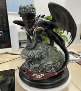 How To Train Your Dragon - Toothless Big Size 30cm Action Figure Model Statue