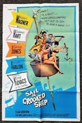 Lot Of 6 Original 1 Sheet Movie Posters From The 1950s And 1960s