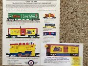 Mth I Love Toy Trains Complete New Set