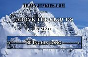 Trainjunkies N Scale Above The Clouds Model Railroad Backdrop 12x80in