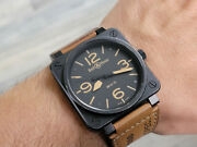 Bell And Ross Br 01-92 Automatic Aviation Type Military - Steel Black Pvd - 46 Mm