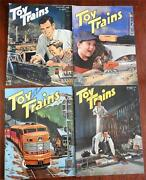 Toy Trains Magazine 1951-2 American Hobby Magazine 4 Issue Lot Illustrated Fun