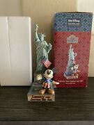 Jim Shore Disney Liberty And Justice For All Patriotic Figurine Mickey 4007663