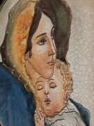 Veneto Flair Italy Mother's Day 1972 Mother And Child 8.5 Collector Plate 1704