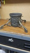 Vintage/ Victorian Cast Iron Ornate Christmas Tree Trunk Stand