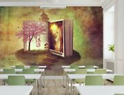 3d Book Of Fairy Tales 17892na Wallpaper Wall Murals Removable Wallpaper Fay