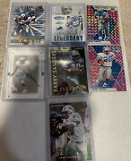 2020 Panini Mosaic Barry Sanders Pink Camp Plus Other Cards Lot Detroit Lions
