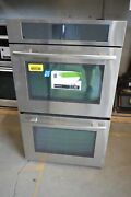Jenn-air Jjw3830ws 30 Stainless Double Electric Wall Oven 1138 Mad