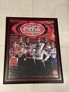 The Coca Cola Racing Family Nascar Autographed Poster Petty Stewart Andretti