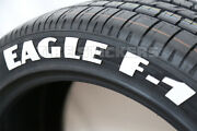 Permanent Tire Lettering - Good Year Eagle F1 - 1.75 For 14 15 16 Wheels