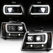 Crisp Projector Cut-off For 07-14 Chevy Tahoe Suburban Led Low Beam Headlights