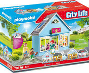 Playmobil City Life - My Hair Salon 70376 For Kids 4 Yrs Old And Up